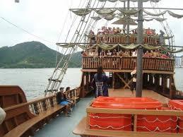 laranjeiras barco pirata